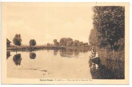 Cpa...Saint-Omer...(P.-deC.)....une Vue Sur La Grande Mer...animée...1950... - Saint Omer