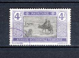MAURITANIE  N° 19   OBLITERE COTE 0.40€   MARCHAND  ANIMAUX - Oblitérés