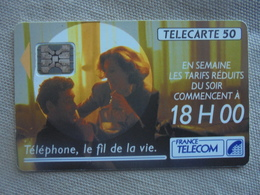 Télécarte 50 Unités Téléphone, Le Fil De La Vie 05/92 - Telecom Operators