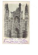 Cpa - 76 - Rouen - Façade Cathédrale - Travaux échafaudage - ND - 1903 - Rouen