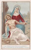 Ancienne Image Pieuse Religieuse La Vergine Addolorata 1893 - Religion & Esotérisme