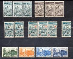MAROC  1939 FES  + 2 Variètes - Nuovi