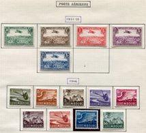 12066 LUXEMBOURG Collection Vendue Par Page PA 1-15 Sauf 6 **/ *  1931-46  TB/TTB - Collections
