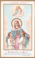 """Ancienne Image Pieuse Religieuse Bouasse Jeune 3737 """"La Confiance En Marie"""" 1883 - Religion & Esotérisme"""