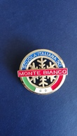 Spilla Scuola Di Sci M. Bianco - P696 - Sport Invernali