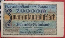 Bayern 20000 Mark 1923 (WPM S926) 1.3.1923 - 20000 Mark