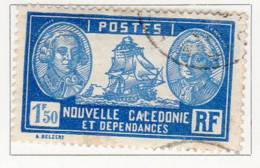 Nlle Caledonie 1928-38 Bougainville La Perouse 1f 50 N°YT 156 - Gebruikt