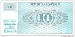 Slovenia - Pick 4 - 10 Tolarjev 1990 - Unc - Slovénie