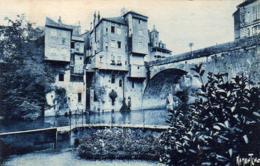 D64  OLORON SAINTE MARIE  Vieilles Maisons Sur Le Gave D'Ossau   ..... - Oloron Sainte Marie