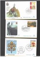FDC SEDE VACANTE 2005 Buste Primo Giorno Filagrano 0,45 - 0,60 - 0,65 € - FDC