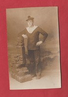 Carte Photo Marin Du Croiseur Tourville ? - Militari
