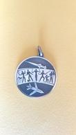 Medaglia In Argento Campionati Sportivi Aeronautica Militare -ME132 - Altri