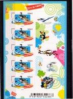 Bloc Autocollant N° F271--Journée Du Timbre 2009--Looney Tunes - Blocs & Feuillets