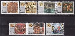 GREECE Mi 1267/73, 1977. MNH** - Griekenland