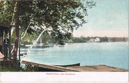 32108. Postal KIMBALL POINT, Manchester (New Hampshire). Lake MASSABESIC - Manchester
