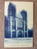 BAYONNE   L'église Saint André   TBE  CP Neuve - Bayonne