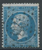 Lot N°47333  N°22, Oblit étoile Chiffrée 28 De PARIS (R. Du Cardinal-Lemoine) - 1862 Napoleon III