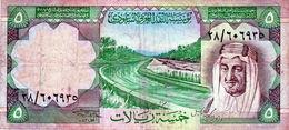 Billet De 5 Riyals N D (1977) Arabie Saoudite - - Arabie Saoudite