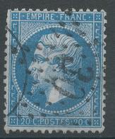 Lot N°47335  N°22, Oblit étoile Chiffrée 30 De PARIS (Bt Mazas) - 1862 Napoleon III