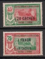 Inde - 1927 - N°Yv. 79 à 80 - Série Complète - Neuf Luxe ** / MNH / Postfrisch - Neufs