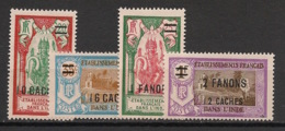 Inde - 1928 - N°Yv. 81 à 84 - Série Complète - Neuf Luxe ** / MNH / Postfrisch - Neufs