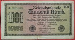 1000 Mark 1922 (WPM 76h) 15.9.1922 WZ: Vielecke - [ 3] 1918-1933 : Weimar Republic