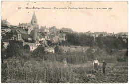 80 - MONTDIDIER - 1917 Vue Prise Du Faubourg Saint Martin - Somme N° 116 Cpa (TTB) - Un Sodat Belge 1917 En Montdidier - Montdidier