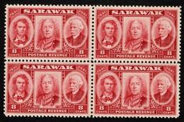 Sarawak - Scott #155 MNH - Block Of 4 (1) - Sarawak (...-1963)