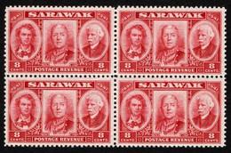 Sarawak - Scott #155 MNH - Block Of 4 (2) - Sarawak (...-1963)