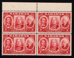 Sarawak - Scott #155 MNH - Block Of 4 (3) - Sarawak (...-1963)