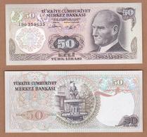AC - TURKEY - 6th EMISSION 50 TL I 90 UNCIRCULATED - Turquie