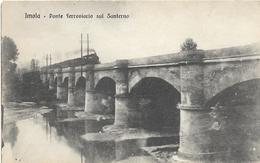 6-IMOLA-PONTE FERROVIARIO SUL SANTERNO(TRENO A VAPORE) - Stazioni Senza Treni