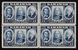 Sarawak - Scott #156 MNH - Block Of 4  (1) - Sarawak (...-1963)