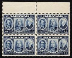 Sarawak - Scott #156 MNH - Block Of 4  (2) - Sarawak (...-1963)