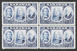 Sarawak - Scott #156 MNH - Block Of 4  (3) - Sarawak (...-1963)