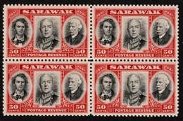 Sarawak - Scott #157 MNH - Block Of 4 (1) - Sarawak (...-1963)