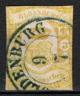 Germania Oldemburgo 1861 Unif.14 O/Used VF/F - Oldenburg
