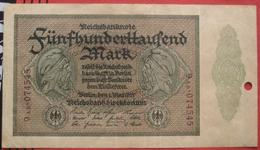 500000 Mark 1923 (WPM 88) 1.5.1923 / Entwertet? - 1918-1933: Weimarer Republik