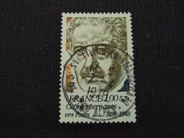 "70-79- Timbre Oblitéré N° 1987   ""  Georges Bernanos ""   0.75 - Used Stamps"