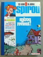 SPIROU N°135 - Spirou Magazine