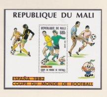 Mali 1982 World Cup Football Spain Souvenir Sheet MNH/** (H46) - 1982 – Espagne