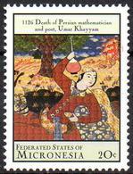 MICRONESIA - 1v - MNH** Omar Khayyam Persian Poet Mathematics Physics Philosophy Wine Flask Drink - Astronomie