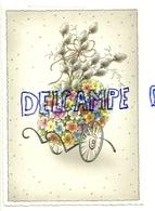 Brouette Fleurie. Format Carte Postale. Épreuve De Carte Postale 8922. - Vieux Papiers