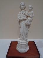 Modelo De Taller. Antigua Estatua De Santa María De Lluc, Patrona De Mallorca. - Religión & Esoterismo