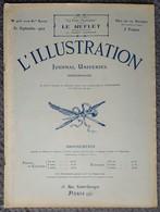 L'Illustration 4152 30 Septembre 1922 L'incendie De Smyrne/Trondhjem/Monument Du Mort-Homme/Bal Second Empire Biarritz - Journaux - Quotidiens