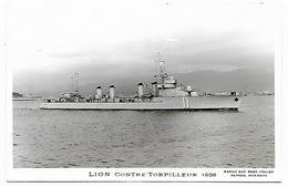 Contre Torpilleur LION - Krieg