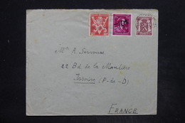 BELGIQUE - Affranchissement De Ostende Sur Enveloppe Pour La France En 1946 - L 25941 - Belgium