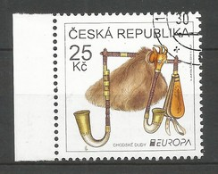 Tschechische Republik  2014  Mi.Nr. 803 , EUROPA CEPT - Musikinstrumente - Gestempelt / Used / (o) - Europa-CEPT