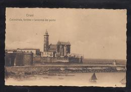 Cartolina Italiana Trani 1907  Cattedrale, Fortino E Lanterna Del Porto Viaggiata - Trani