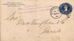 PUERTO RICO - MAYAGUEZ - ENTIER POSTAL 1907 - Puerto Rico